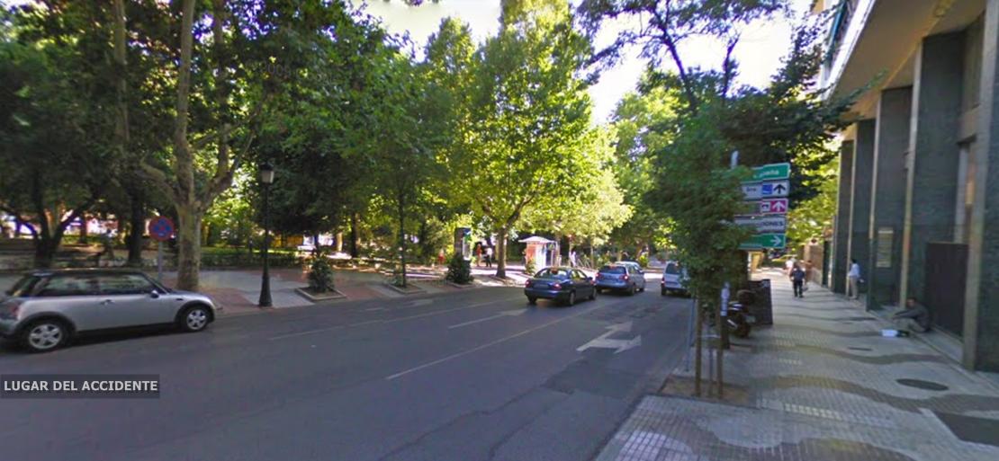 Un joven herido tras sufrir un accidente en Cáceres