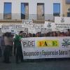 Los empleados públicos extremeños salen a la calle para reclamar sus derechos