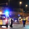 Accidente y vuelco de una ambulancia en Badajoz cuando se dirigía a una urgencia