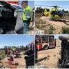 Grave accidente de tráfico en Vegas Altas