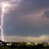 Extremadura en alerta por fuertes tormentas hasta las 6 de la madrugada