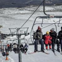 La Covatilla acumula 3 metros de nieve para disfrute de todos