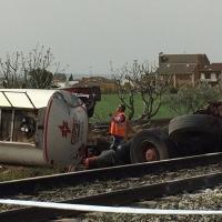 Un accidente mortal corta la línea férrea Madrid-Extremadura