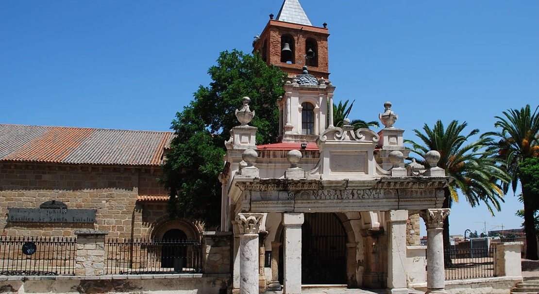 La Basílica Santa Eulalia de Mérida se abre al turismo