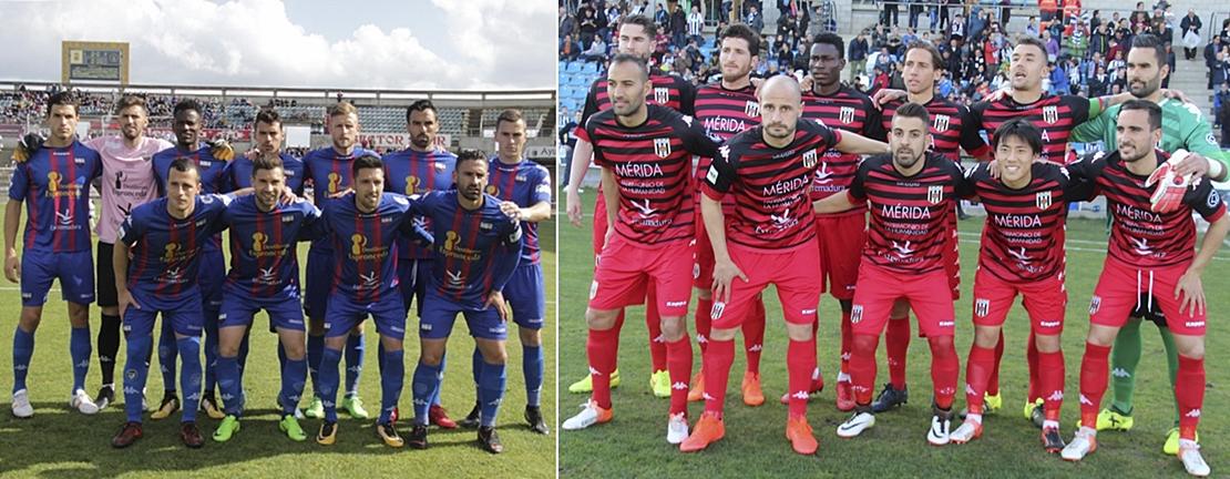 Extremadura y Mérida ya conocen sus rivales