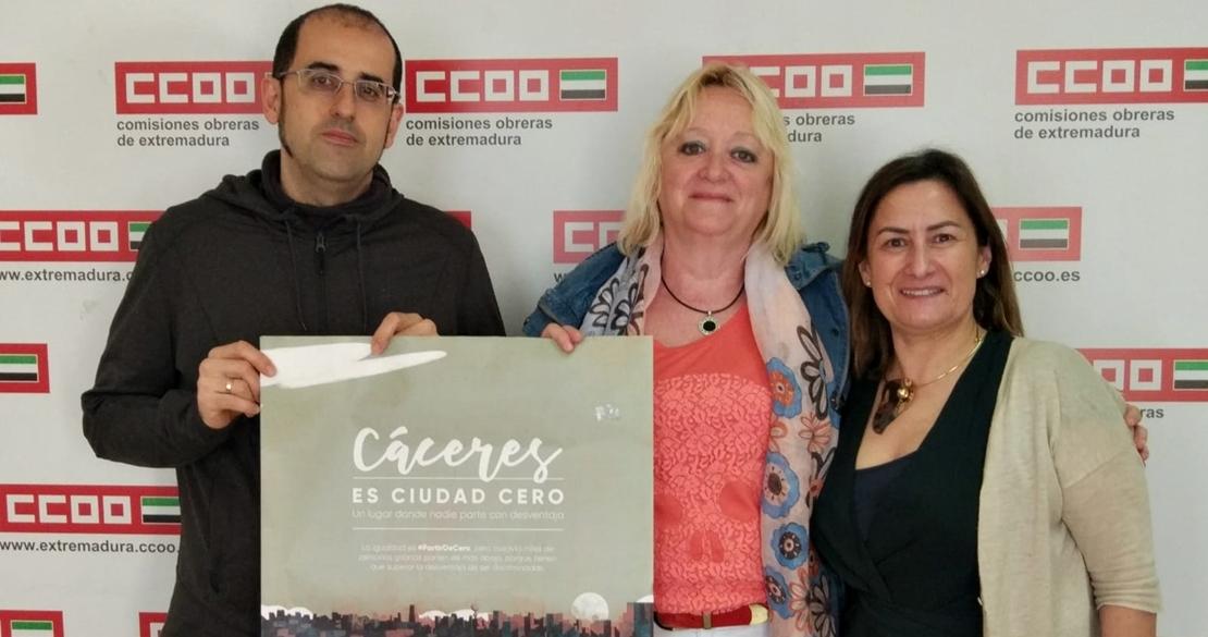 CCOO apoya la campaña 'Partir de Cero', contra la discriminación