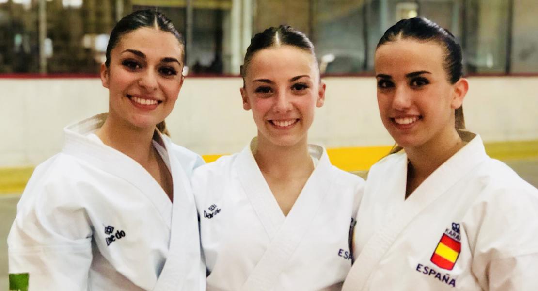 La extremeña Marta García opta al oro en el Europeo de Karate