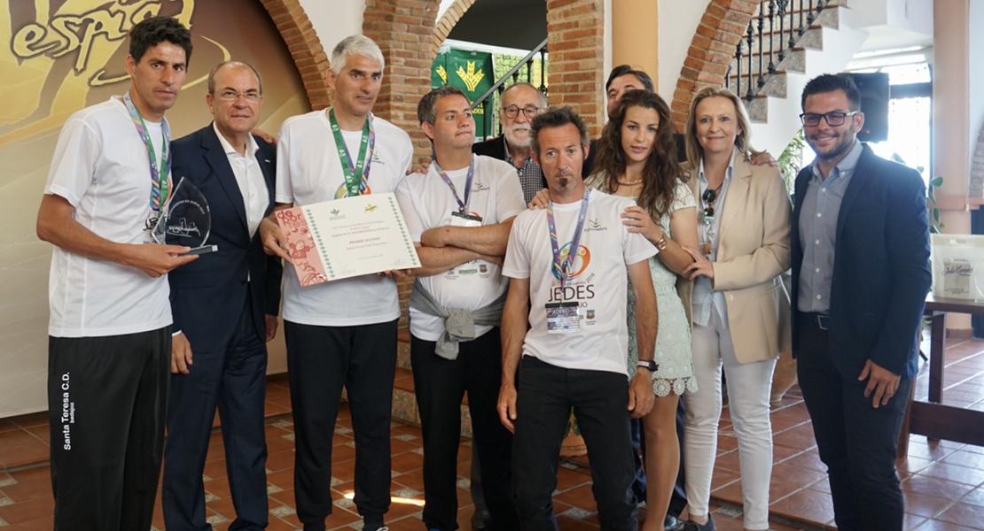 El Santa Teresa Badajoz recibe el primer accésit en los Premios Espiga 2018