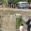 Rescate de un joven en el río Guadiana (Badajoz)