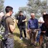 El secretrario de Desarrollo Rural visita el Orchydarium con ARJABOR