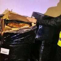 Interceptan en Badajoz 180 kilos de hojas de tabaco destinado a Portugal