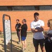 Cáceres dispone ya de su primer gimnasio municipal de calistenia