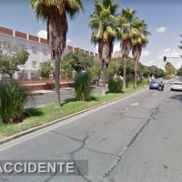 Un joven en estado grave tras sufrir un accidente de moto en Badajoz