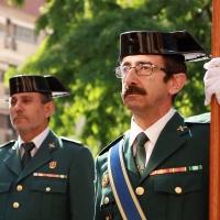 Emoción castrense en el 174 aniversario de la Guardia Civil