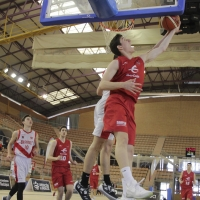 Imágenes de los cuartos del Nacional junior de baloncesto de Badajoz
