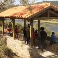 Un mirador para disfrutar del Parque Natural Tajo Internacional