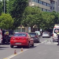 Una mujer es atropellada en el centro de Badajoz