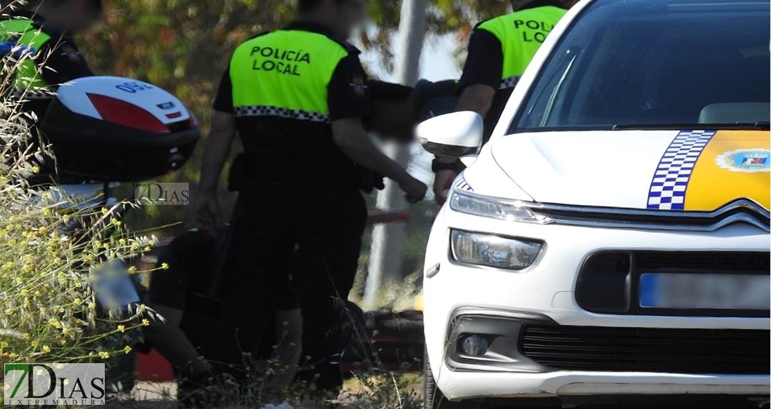 Detenido un hombre tras una persecución en Badajoz