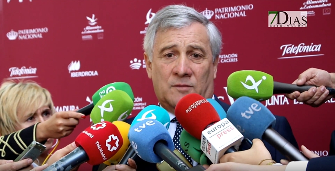 """Tajani: """"Este premio es un mensaje para todos los ciudadanos europeos"""""""