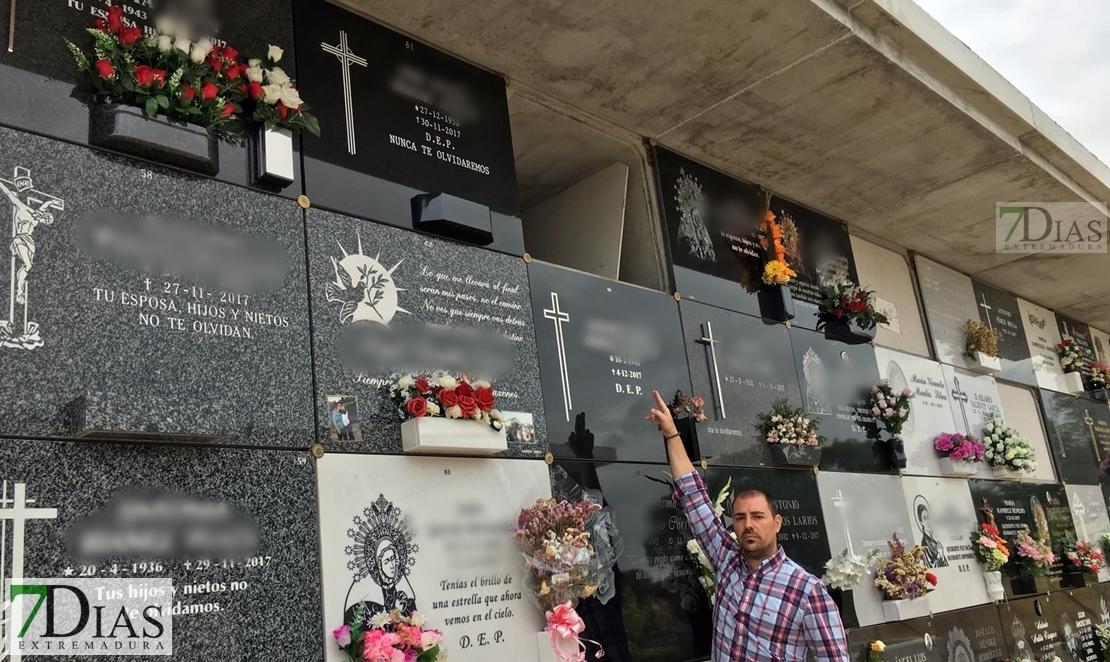 Badajoz se queda sin nichos nuevos