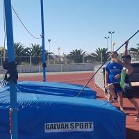 El Club Atletismo Badajoz entrena en Cáceres por falta de recursos
