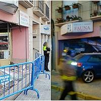 Se empotra de madrugada contra un establecimiento de Badajoz