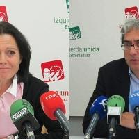 Encarna Muñoz y Joaquín Macías se postulan a liderar IU Extremadura