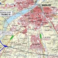 Firmado el contrato de las obras del tramo III de la Ronda Sur de Badajoz