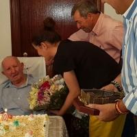 Homenaje a un extremeño centenario