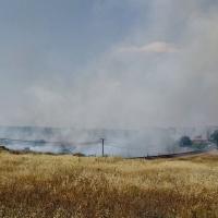Incendio peligroso en Cáceres