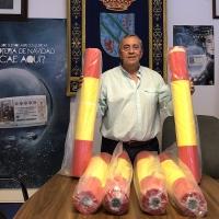Calzadilla de los Barros prepara la bandera española más grande del mundo