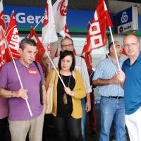 Los empleados de Caixa Geral pelean por sus puestos de trabajo