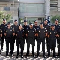 Llegan a Extremadura 55 policías nacionales para realizar prácticas