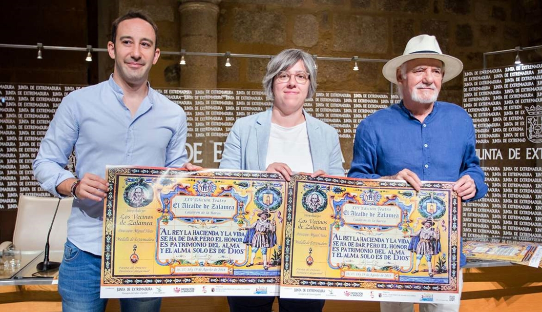 El alcalde de Zalamea cumple 25 años y aspira a ser Fiesta de Interés Turístico Nacional