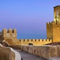 Recorrido nocturno por la alcazaba de Badajoz
