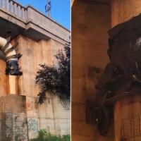 ¿Reventones en Badajoz?, no pasa nada, los tapan con bolsas de plástico