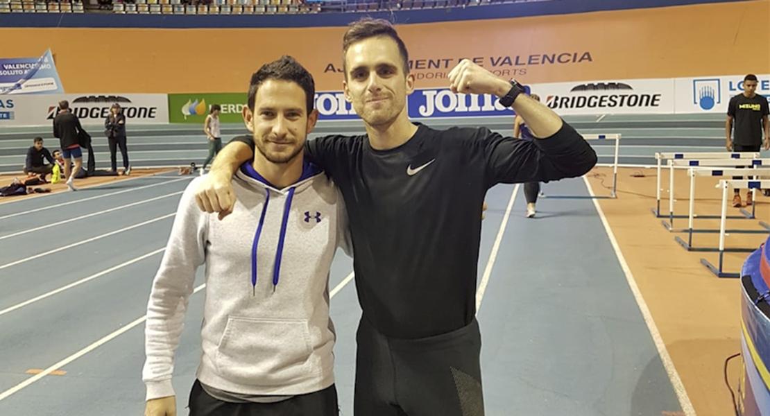 El olímpico Sebas Martos se instala en Badajoz para preparar Tokyo 2020