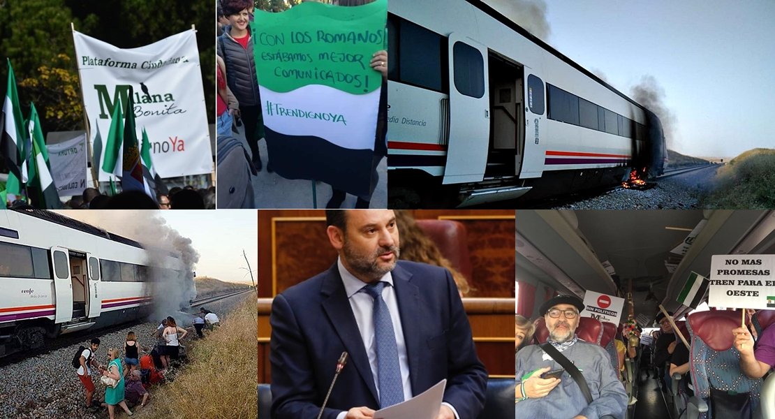 Los extremeños invitan al ministro Ábalos a que viaje hasta Extremadura en tren