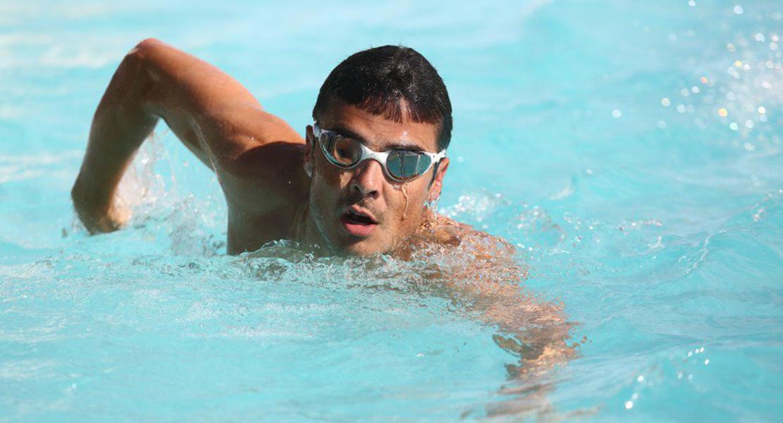 Gómez Noya elige Extremadura para preparar el Ironman de Hawaii