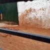 Una tromba de agua inunda el pueblo pacense de La Morera