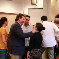 Inauguración del ciclo de conferencias con motivo de Almossassa 2018