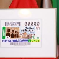 La ONCE presenta en Badajoz el cupón dedicado a Almossassa