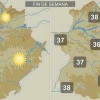 Extremadura estrenará el otoño con temperaturas cercanas a los 40 grados
