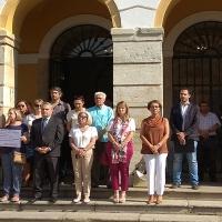 Minuto de silencio por Macarena y Maguette las últimas dos víctimas de violencia de género