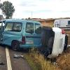 Seis personas heridas en dos accidentes en la provincia de Badajoz