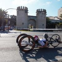 Imágenes del Campeonato de España de Ciclismo Adaptado en Badajoz