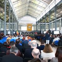 Ceremonia de apertura oficial del curso en la Universidad de Extremadura