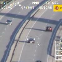 TRÁFICO: Vigilancia de carreteras por tierra-aire y controles destacan en este Puente del Pilar