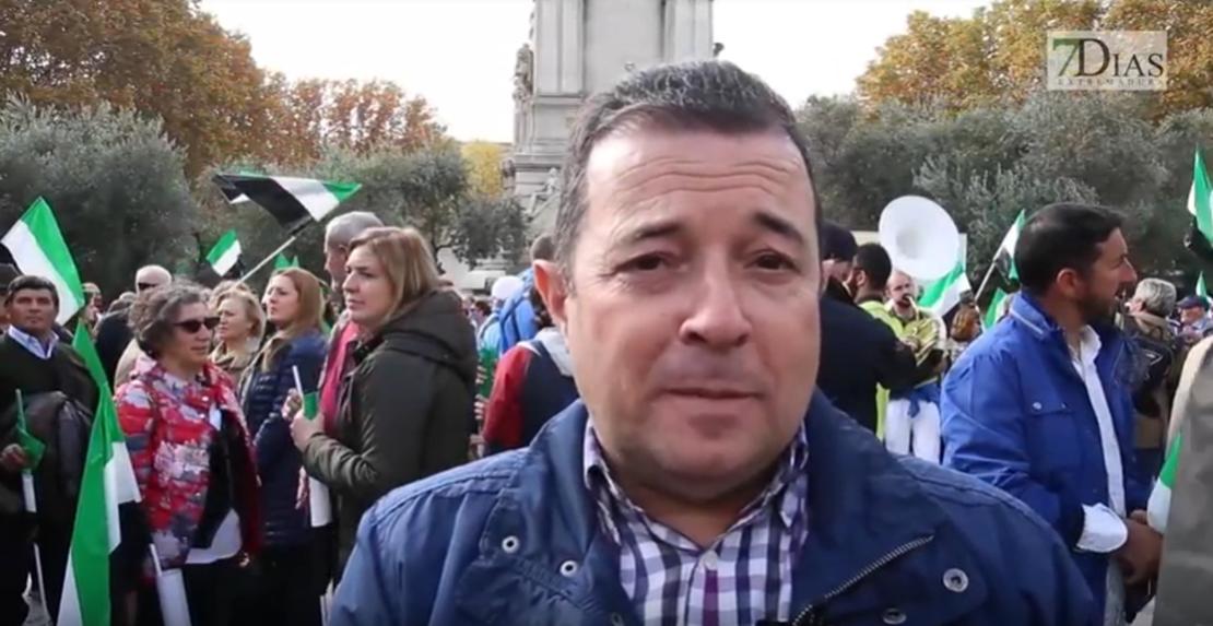 """Alcalde Fuente del Maestre: """"Ha sido un éxito, no esperábamos tantos extremeños"""""""