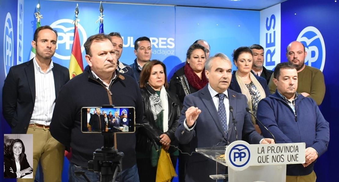 El PP recuerda a Borrallo los alcaldes socialistas en la cárcel y anuncia querella criminal contra ella